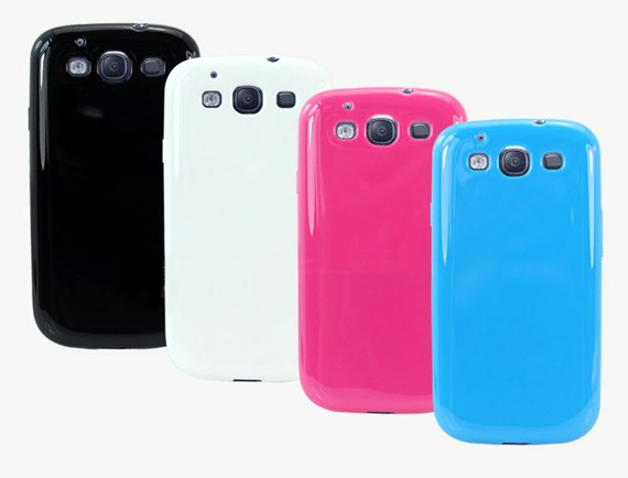 Glossy Silicon Case for Samsung Galaxy S3 i9300
