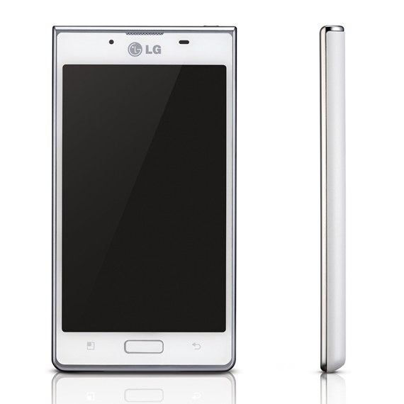 LG P705 Optimus L7 Unlocked GSM Phone with Clear Screen Protector Set