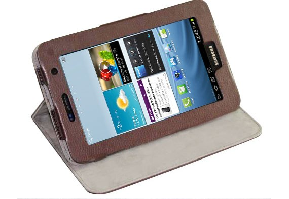 Galaxy Tab 2 (7.0) P3100Standable Leather Case for