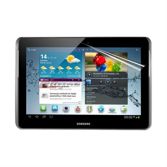 Samsung Galaxy Tab 2 (10.1) 2pcs Set Clear Screen Protector
