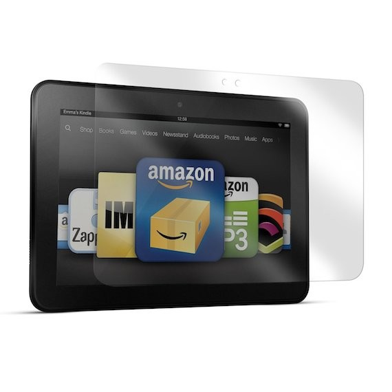 """Screen Protector Film Matte Clear (Anti-Glare) for Kindle Fire HD 7"""" Tablet (2-Pack)"""