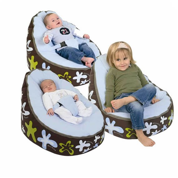 Comfortable Baby Bean Bag Support Chair