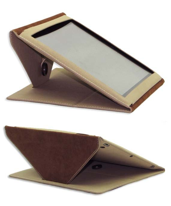 Ultra-thin Denim Envelop Style The new iPad/ iPad2 Pouch Case With Stand Clasper