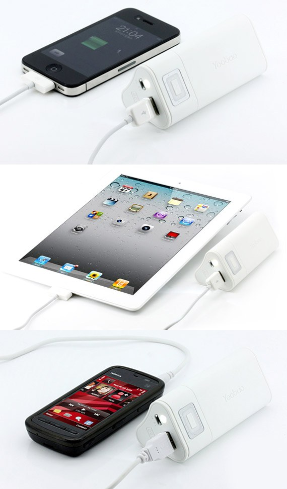 Multi Usage Power Bank 6600mAh for iPhone / iPad