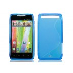 Motorola DROID RAZR Premium TPU Wavy Gel Shield Case