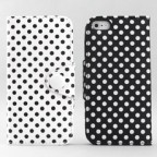 iPhone 5 Polka Dot Wallet Case