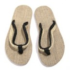 Men Casual Hemp Flip Flop