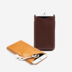 iPhone 6 plus Leather Slip in Case