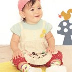 Flower Print with Mock Pants Outfit for Baby Girl