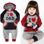 I Love Mum & Dad Outfit for Kids
