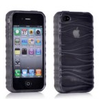 Ripple Texture Translucent Case for iPhone 4/4S