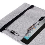 Thoughtfully Designed Fabric Anti-shock Protective Sleeve for iPad 2 / The new iPad