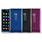 Ultra Slim Soft Silicone Back Case Cover for Nokia Lumia 900