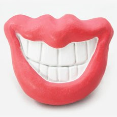 Sexy Red Lips Dummy Toy For Pet Dogs