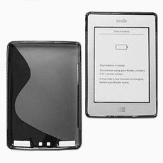 Amazon Kindle Touch Wavy Protective Cover Case