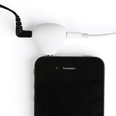 2-in-1 Stand cum Earphone Splitter