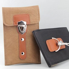 Universal Soft Leather Buckle Smartphone/iPhone 5 Holster Case