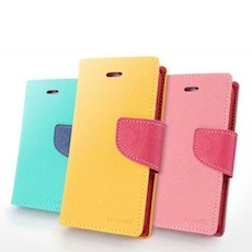 iPhone 5 Fancy Diary Wallet Case