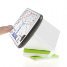 360 Degree Universal Car Mount Cube cum Desk Stand