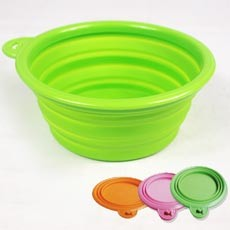 Collapsible Silicon Pet Travel Bowl