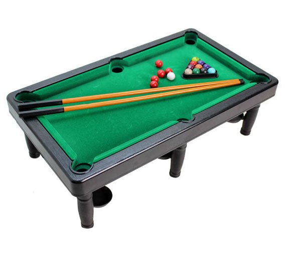 Mini Snooker Table Toy Set for Kids