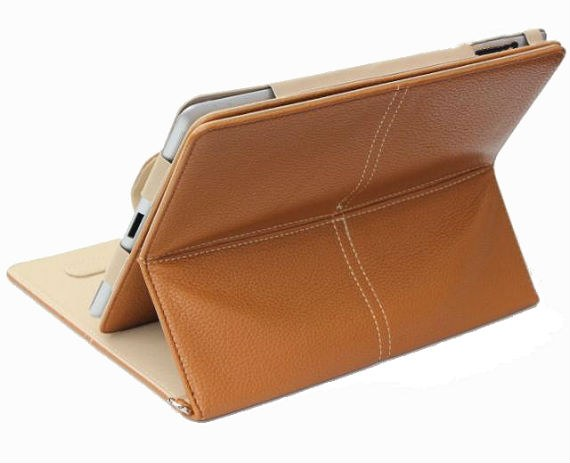 iPad 2 High-end 360 Degree Rotatable and Detachable Leather Cover