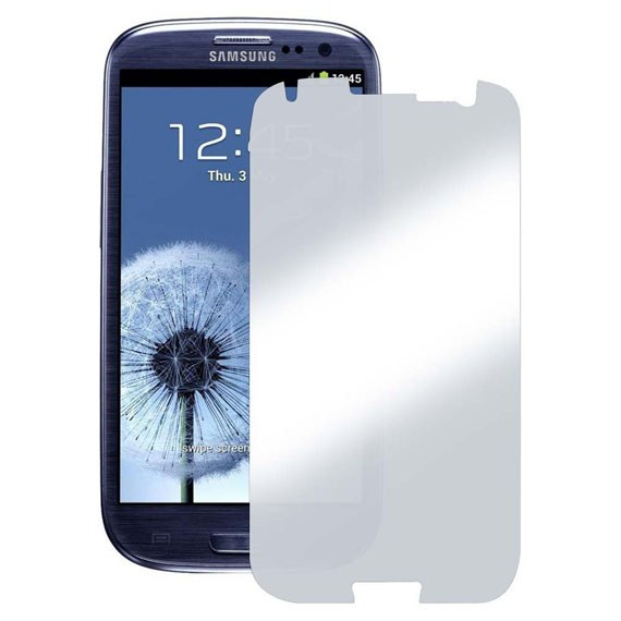 Samsung Galaxy S3 Mirror Screen Protector (Two-Piece Set)