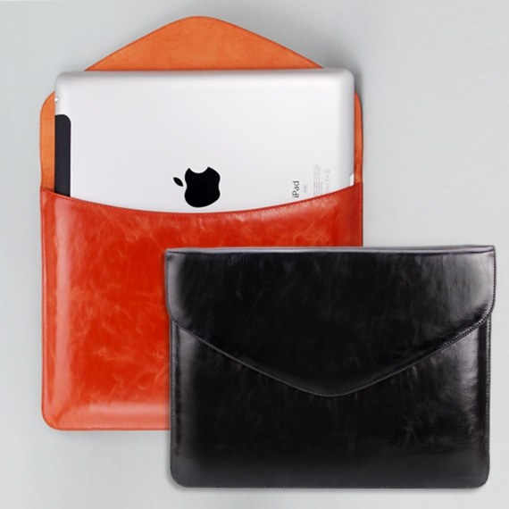 The new iPad / iPad2 Leather Slip in Case