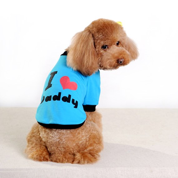 Cute-print Cotton Tees for your dog