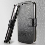 Samsung Galaxy S3 i9300 Snake Skin Textured Leather Flip Case