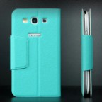 Classic Leather Flip Case with Card Slots for Samsung Galaxy S3 i9300