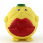 Big Lips Face Squeaky Pet Toy
