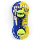 Petsports Tennis Ball Fetch Tug Dog Toy