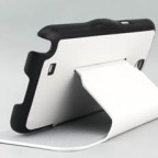 Galaxy Note II Folio Leather Case with Built-in Stand