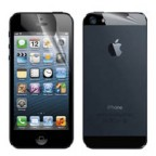 iPhone 5 Front and Back Clear Protective Films 2 Sets (2pcs per set)