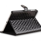 iPad mini Glossy Quilted Leather Case