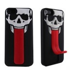 iPhone 5 Devil Skeleton Tongue Stand Case