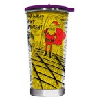 Santa Cartoon Thermal Tumbler