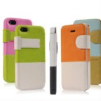 Baseus Leather Smart Cover for Apple iPhone 5 / 5S