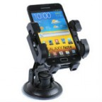 iPhone 5/ 4S / Xperia Ion LT28i / Galaxy Note / HTC One XL Adjustable Car Mount Holder Cradle with Swivel Mount