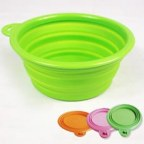 Collapsible Silicone Pet Travel Bowl