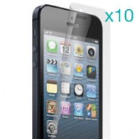 iPhone 5 High Quality, Matte Screen Protector (Ten-Piece Set)