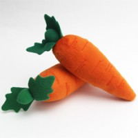 Treat your dog to a carrot toy