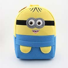 Cute Minion Baby Toddler Backpack