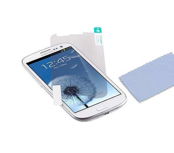 Samsung Galaxy S3 Diamond Screen Protector (Two-Piece Set)