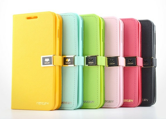 Samsung Galaxy S2 i9100 Leather Diary Flip Cover with Soft Pastel Colour Choices Fitted with Hard Back Shell