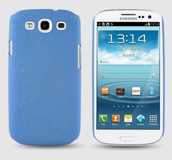 Durable Powder Coated Case For Samsung Galaxy S3 i9300