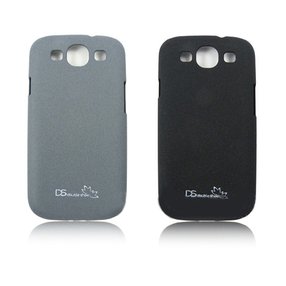 Anti-Fingerprint Powder Coated Case for Samsung Galaxy S3 i9300