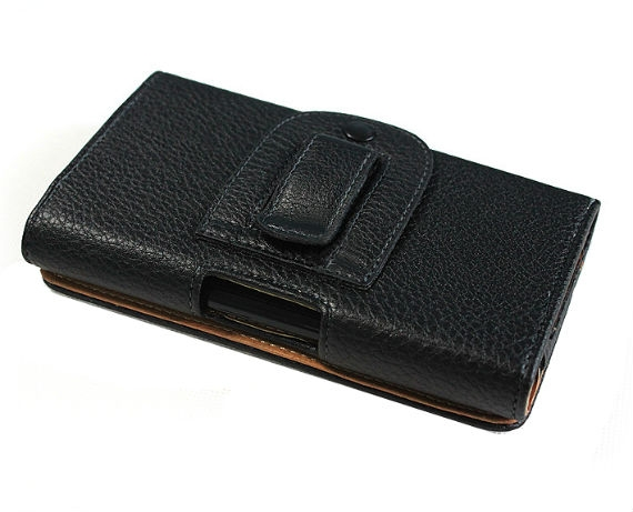 Sony Xperia ion LT28i Clip-on Leather Flip Case