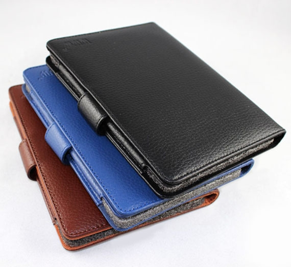 Amazon Kindle Touch Classic Leather Flip Cover